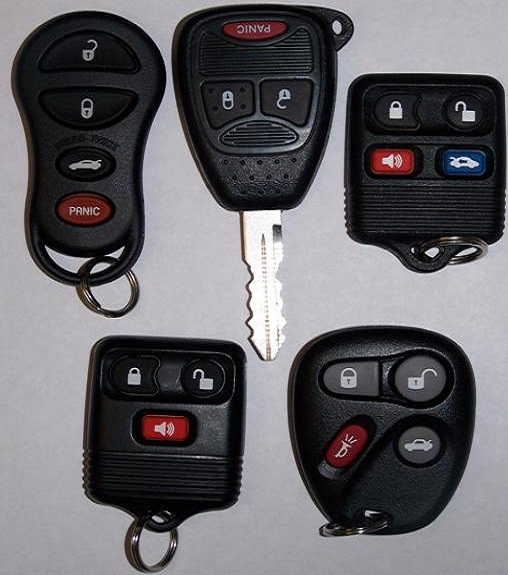 keyless REMOTE entry REPLACEMENT