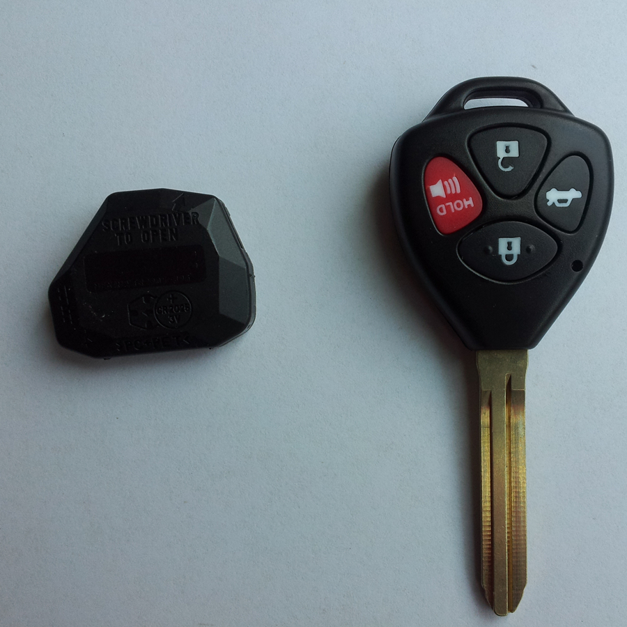 TOYOTA keyless REMOTE entry REPLACEMENT